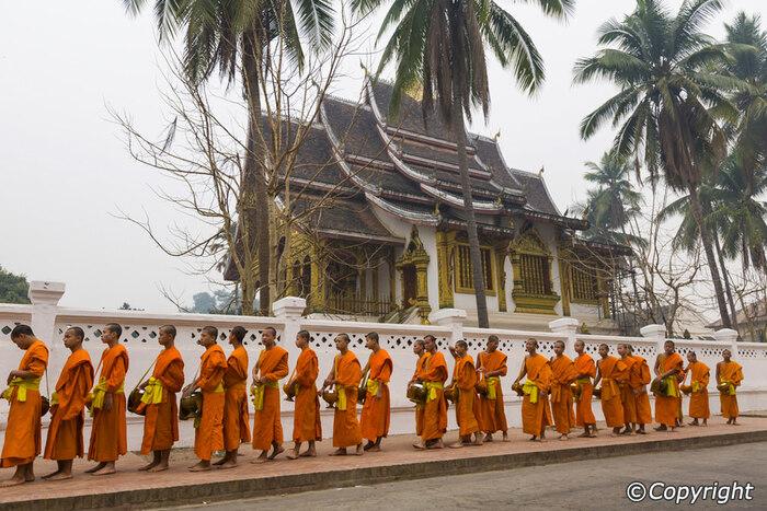 Balade À Luang Prabang Au Laos