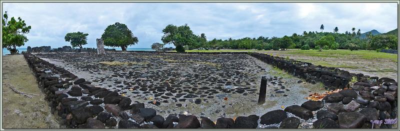 Marae Taputapuatea - Raiatea - Polynésie française