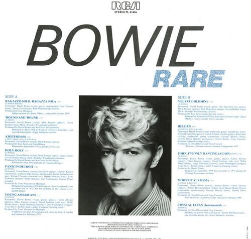 Bootleg's Week - Jour 4: Bowie Rare (1982)
