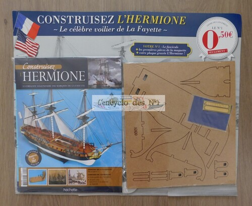 N° 1 Construisez l'Hermione - Lancement