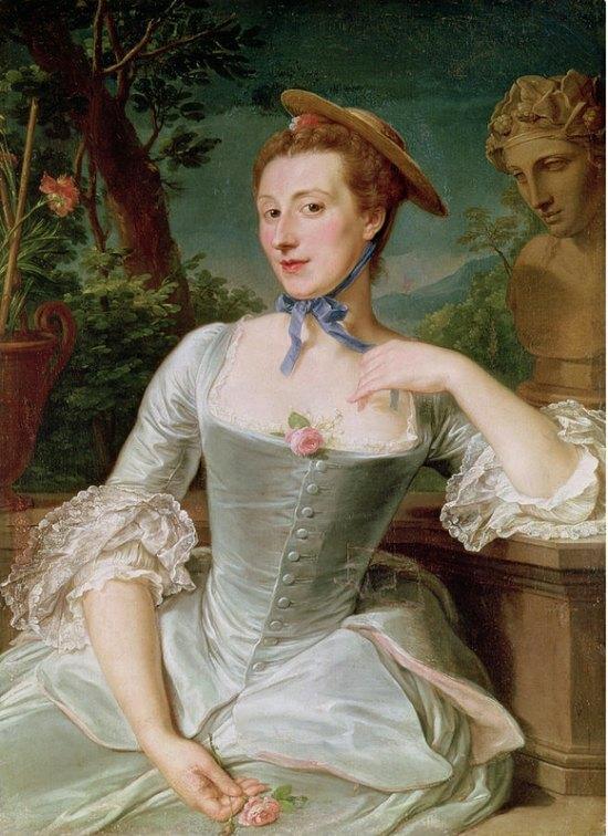 Madame de Pompadour, par François-Hubert Drouais