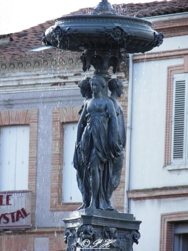 Fontaine des trois Grâces à Lavaur(81)
