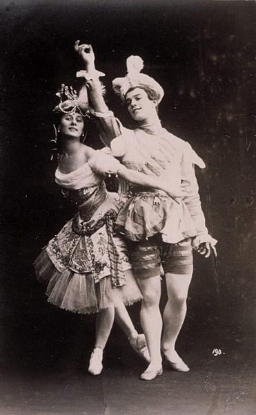 Le Pavillon d'Armide (1907) - Paris découvre les Ballets Russes