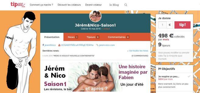 Bonjour à toutes et à tous ! Bienvenue sur le site Jérém&Nico