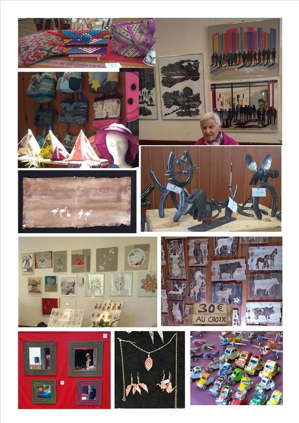 """""""Recyc l'Art"""", une exposition-vente originale à voir à Aignay le Duc le week-end prochain"""