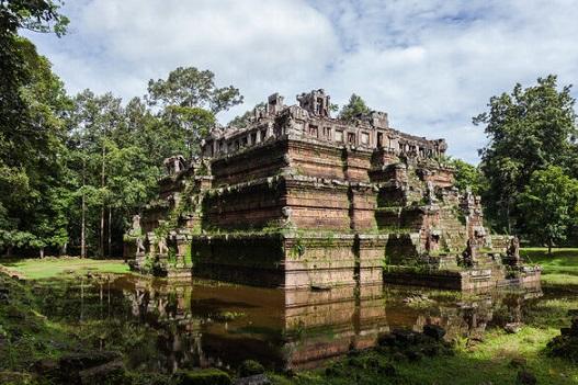 Un temple mystérieux ...