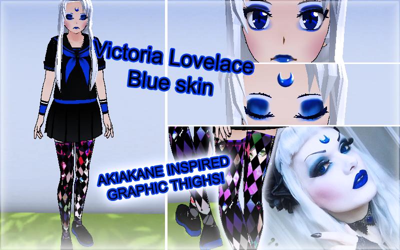 Victoria Lovelace: Skin Bleu