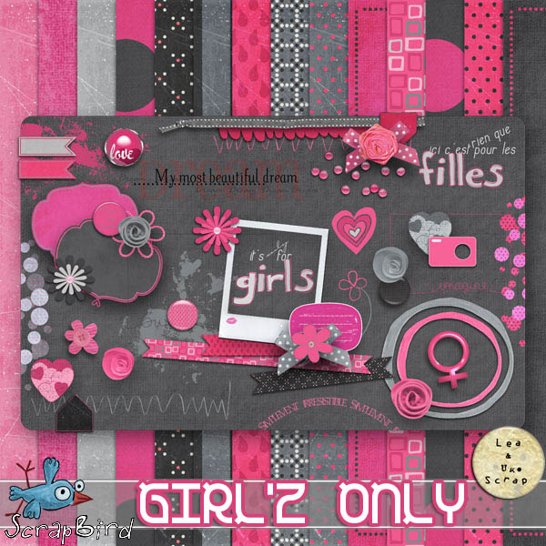 "LEAUGOSCRAP  ""Girl'Z Only"""