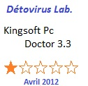 Test de Kingsoft Pc Doctor
