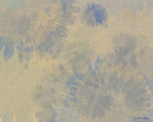 design beige bleuté