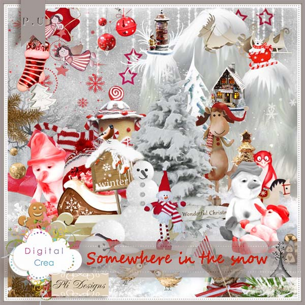"""""""Somewhere in the Snow"""" by PliDesigns Scrap"""