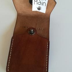 Pochette pour téléphone portable artisanale