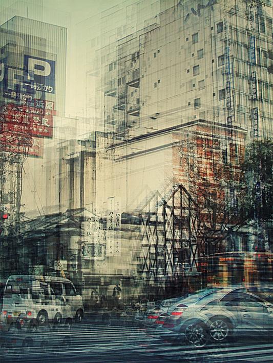 la ville saccadée