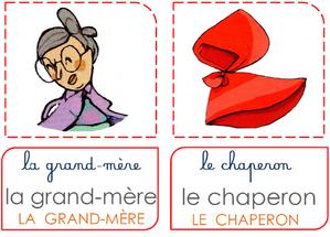Conte 2 : le Petit Chaperon Rouge