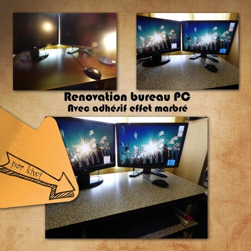 Renovation bureau pc