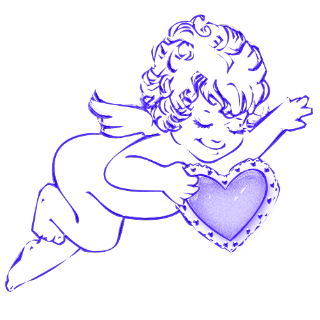 bleu coeur