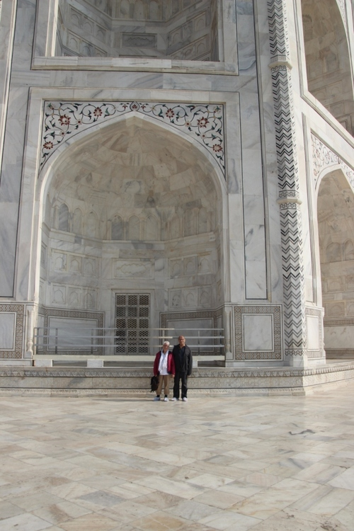 Le Taj Mahal, rêve de marbre