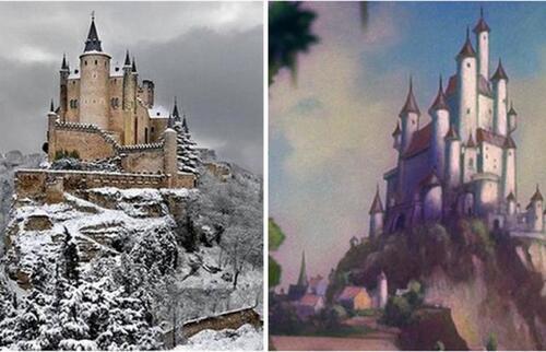 16 lieux réels qui ont inspiré les films Disney !