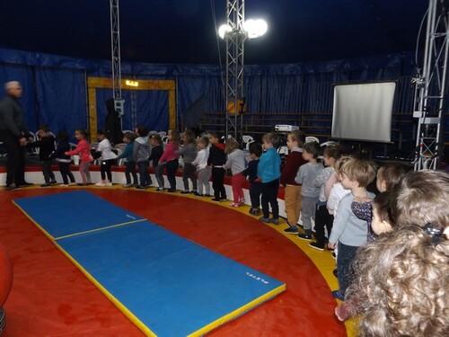 lundi 12 février cirque