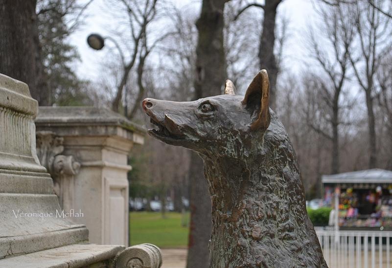 Dans le jardin du Ranelagh on récite le Corbeau et le Renard ...