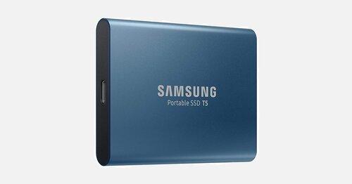Samsung : les SSD portables 50% moins chers