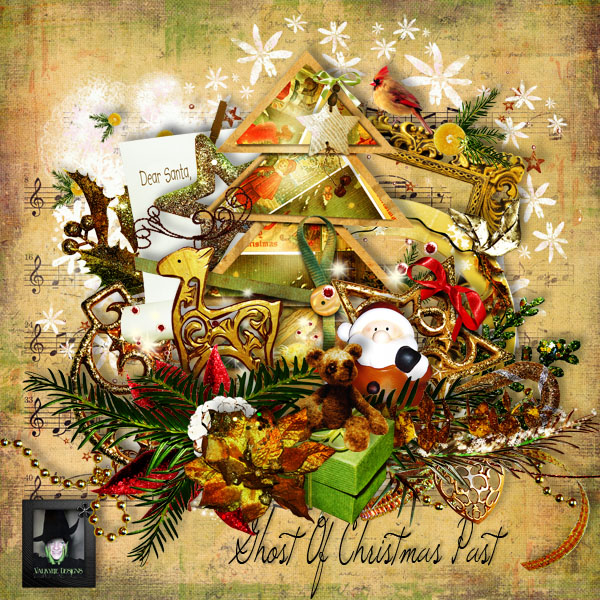 """ Ghost of Christmas Past"" par Valkyrie Designs"