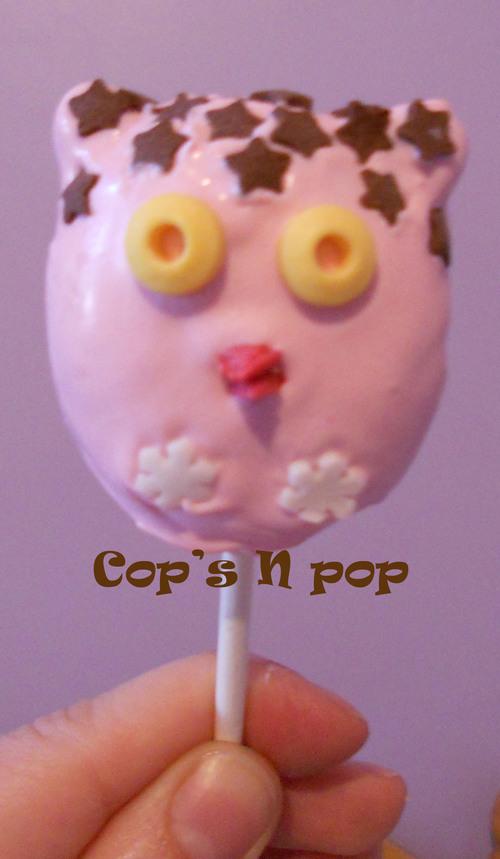 Cake pops trop chouettes...aux bonbons caramel!