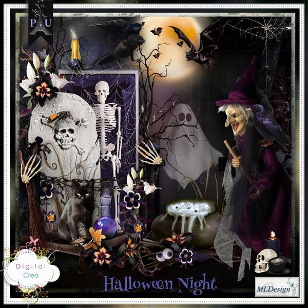Halloween Night by MLDesign