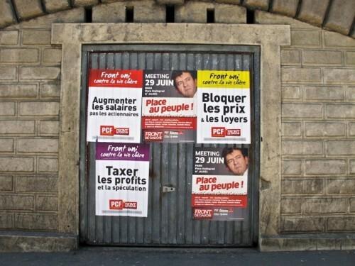 affiche politique Mélenchon 7