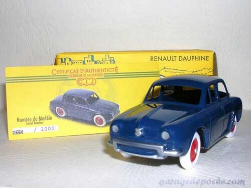 Renault Dauphine CIJ