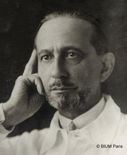 Gustave Roussy, Recteur de l'Académie de Paris, chargé de l'accueil de l'Occupant allemand en août 1940 (source : BIUM Paris).