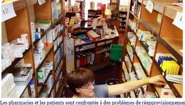 Médicaments en rupture