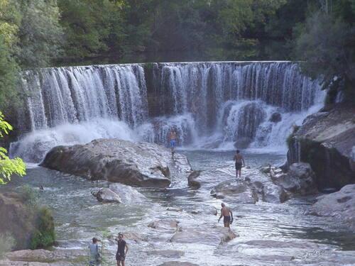 cascade de saint laurent le minier - gard-