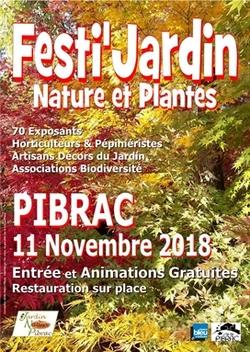 11 Novembre 2018  Festi jardin  PIBRAC  31