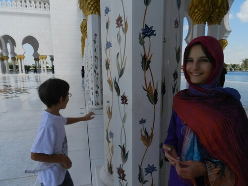 UAE Abu Dhabi La grande mosquée