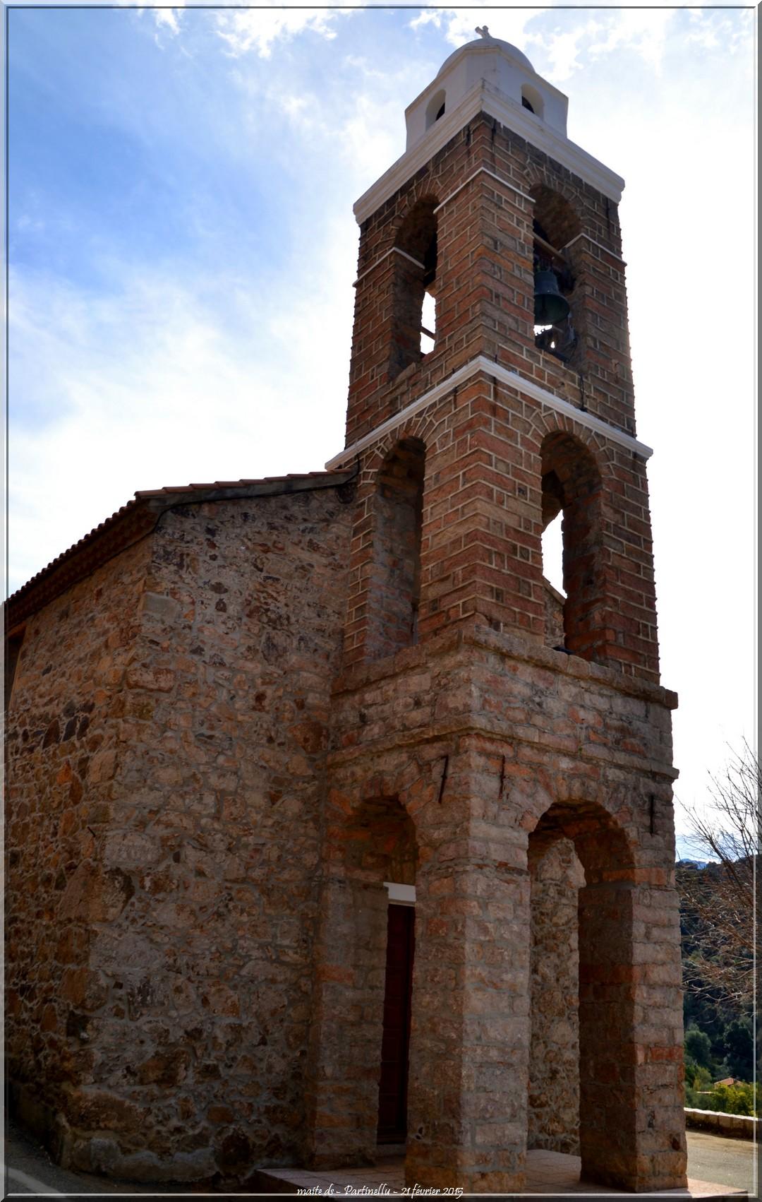 Eglise St-Antoine de Padoue - Partinellu - Corse