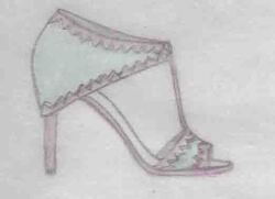 shoes, chaussures, talons, dessins chaussures