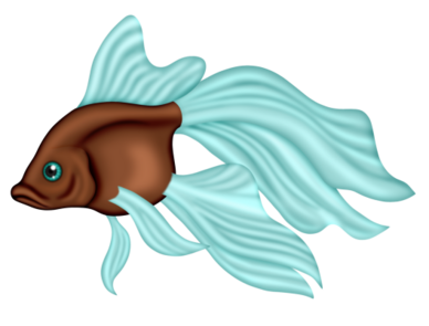 Tubes poissons en png