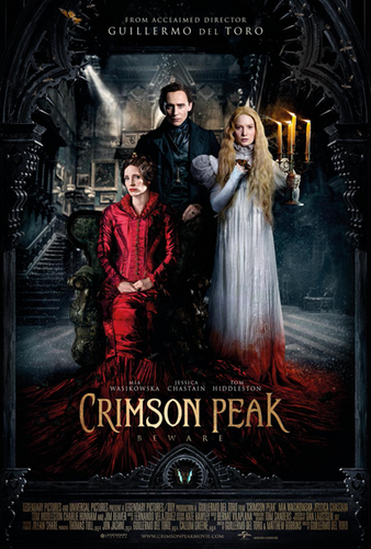 Crimson peak, Guillermo del Toro, 2015