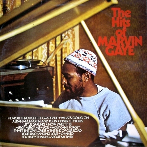 "Marvin Gaye : Album "" The Hits Of Marvin Gaye "" Tamla Motown Records 111201 [ UK ]"