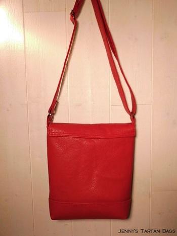 Sac bandoulière / Messenger bag Maple Leaf Tartan
