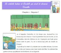 Charlotte qui rêvait de découvrir Versailles: tapuscrits et fiches de lecture