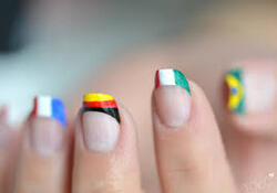 nail art coupe du monde