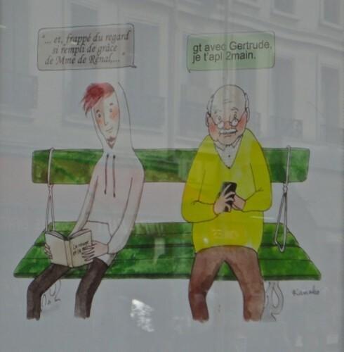 affiche parisien Kanako 3538