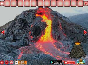 Jouer à Volcano eruption escape