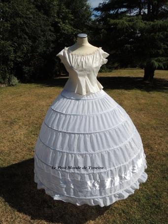Robe de bal 1860 - Bal Gown 1860