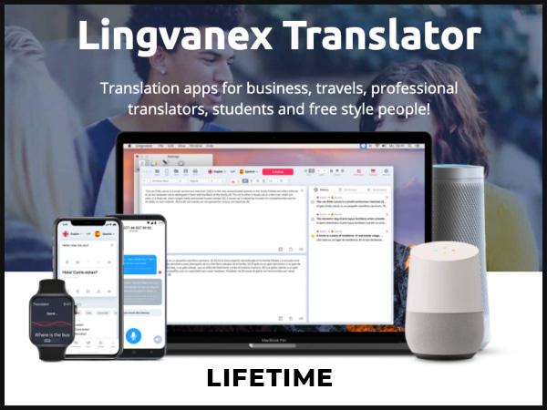 Lingvanex Translator Apps For Mobiles & Desktop With Lifetime Subscription