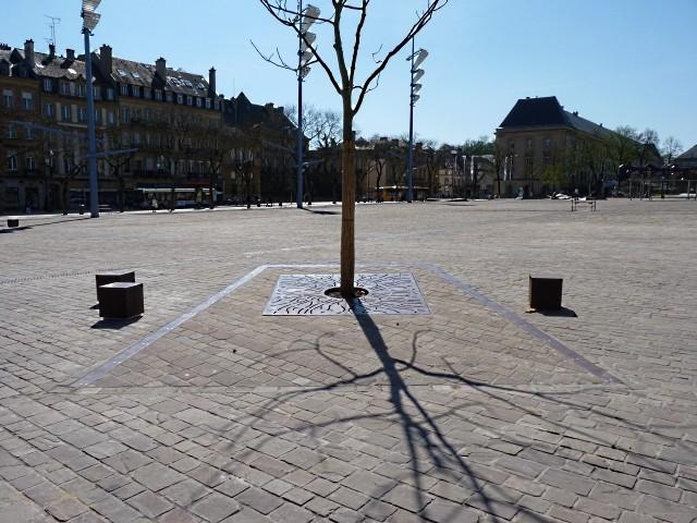 La Nouvelle place de la République de Metz 11 Marc de Metz