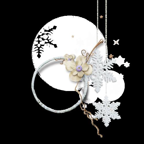 Cadres et Clusters de Noël Série 16