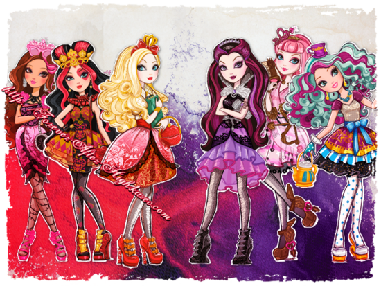 Ever After High-Lizzie Hearts-artwork HQ